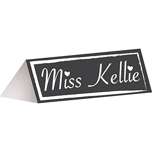 Hoffmaster Group 164301 Chalkboard Placecards (Creative Halloween Costumes Ideas)