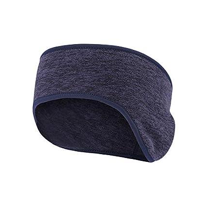 8045d09ff27 Obacle Headband Ear Warmer Running Headband Sweatband Sports Non Slip  Earmuff Girls Women Ear Band Men