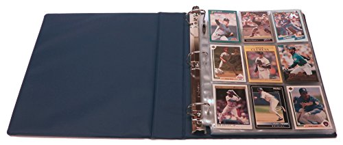 Large Product Image of Hobbymaster Baseball Card Collecting Starter Kit - Album, Pages, Sleeves, Toploaders, Mini-Snap Holders and Storage Box - Everything You Need to Store and Protect Your Sports Card Collection