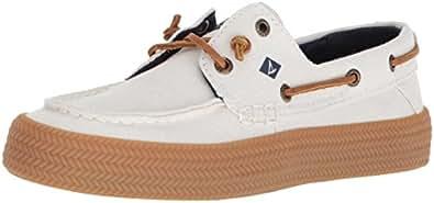 Sperry Top-Sider Women's Crest Resort Rope Sneaker, White, 5.5 Medium US