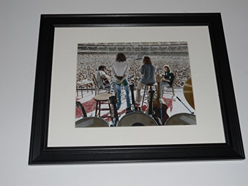 Crosby, Stills, Nash and Young 1974 Tour Crowd Shot Framed Print 14