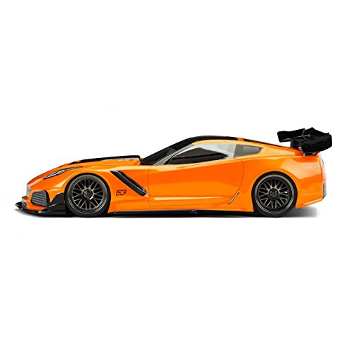 Protoform - Pro-line Racing Chevrolet Corvette ZR1 Light Weight Clear Body, 190mm, PRM156325