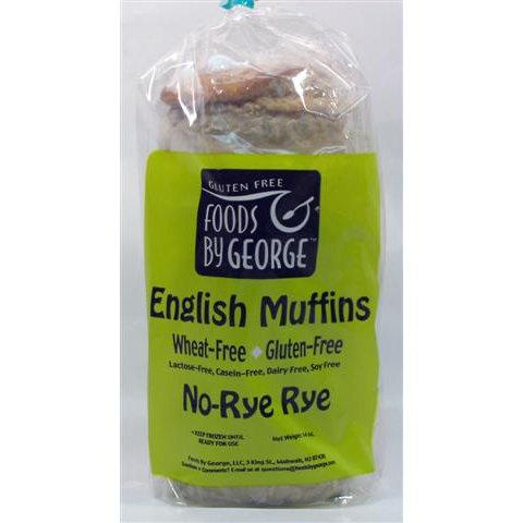 Gluten Free - English Muffin No Rye-rye - 6 X 14 Oz (4 Per Pack) Frozen
