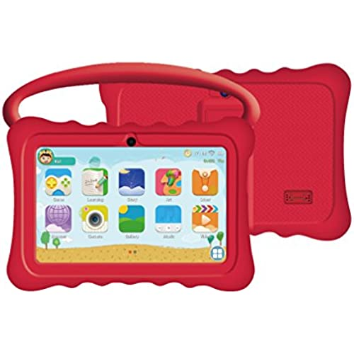 Auto Beyond 7inch Kids Tablet PC with Handle Silicone Case-Quad Core 1.2GHz,8GB ROM,Wi-Fi,Bluetooth,Dual Camera Coupons