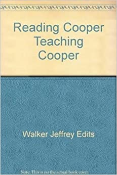 Reading Cooper, Teaching Cooper (AMS Studies in the Nineteenth-century)