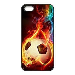 ALICASE Diy Customized Hard Case Football for iPhone 5,5S [Pattern-1]