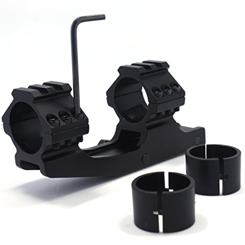 EVOLVA FUTURE TECHNOLOGY Tactical Flat Top Dual Ring Scope Mount (30 mm with 1″ Inserts Ring) (Screw Version) Review