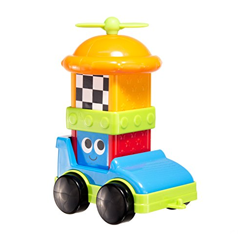 UPC 037977805062, Sassy Block Set, Race Car