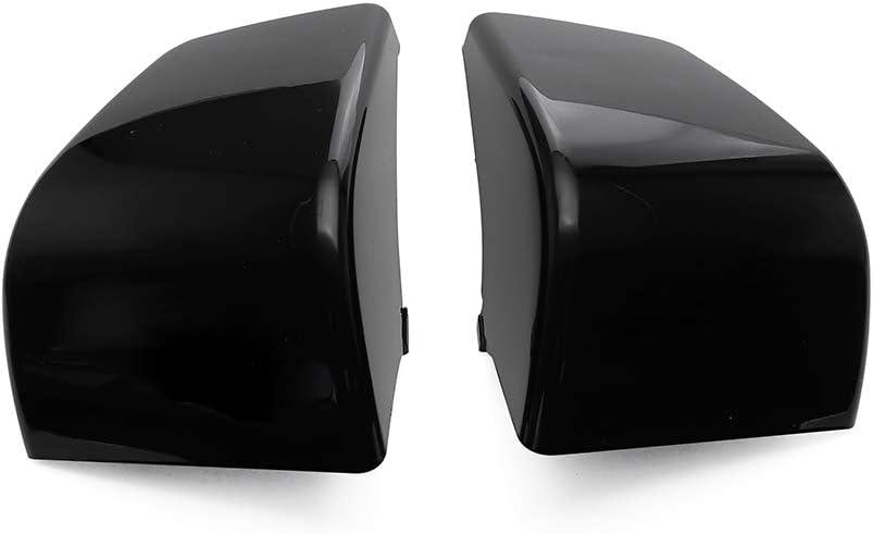 MotorFansClub 2PCS Side Fairing Battery Covers Cases Black Fit For Compatible With Honda Shadow ACE 750 VT750 C D VT400 Protectors Bumper Guards 1997 98 99 2000 01 02 03