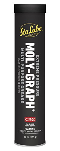 Graphite Grease - CRC Sta-Lube SL3330 Moly-Graph Extreme Pressure Multi-Purpose Lithium Grease - 14 Oz.