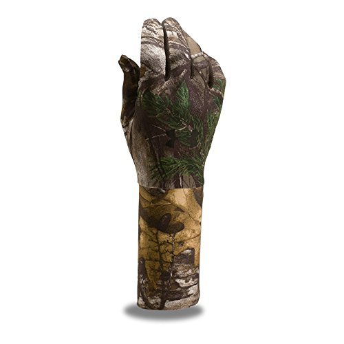 Under Armour Men's ColdGear Camo Liner Gloves, Realtree Ap-Xtra /Black, - Hunting Under Gloves Armour
