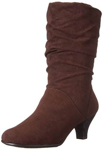 Aerosol Donna Wise N Shine Slouch Boot Combo Marrone Scuro