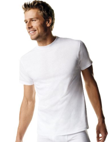 (Hanes Men's 3 Pack FreshIQ Ultimate Crew Neck Tee (X-Large Tall, White))