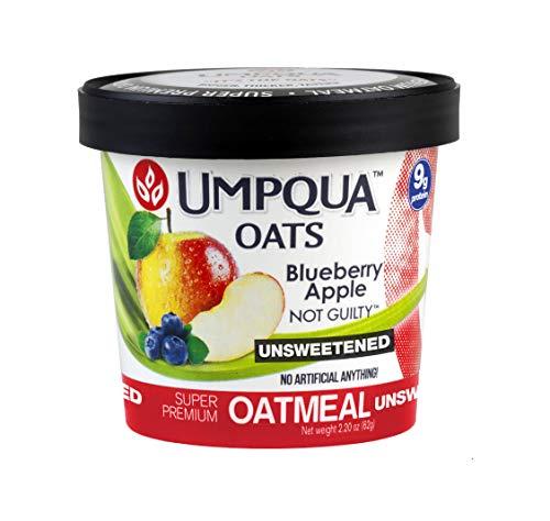 (Umpqua Oats Oatmeal, 12 Count - Blueberry Apple Not Guilty)