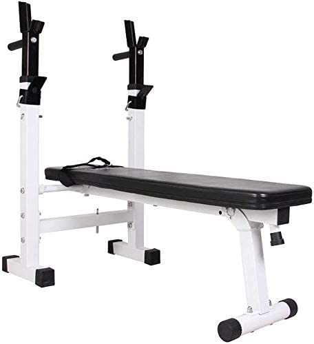 Adjustable Benches Folding Weight Table Multifunctional Bench Press Folding Squat Rack Home Fitness Equipment Benches Color Black, Size 110*29.190*45cm