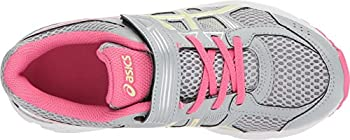 Asics Unisex-child Pre-contend 4 Ps Shoes, Size: 12 M Us Little Kid, Color Mid Greylimelighthot Pink 4