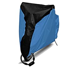 Bike Cover,190T Polyester Bicycle Waterproof UV Protective Breathable Cover with Lock Hole,Fits Mountain Bikes, Road Bikes, Scooters,Electric Bike,Motorcycle