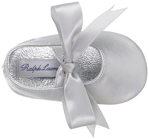 Ralph Lauren Layette Briley Ballet (Infant/Toddler), Silver/Metallic, 3 M US Infant - Image 8