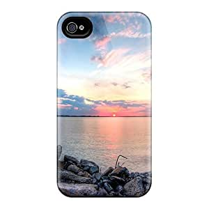 Iphone Cover Case - Last Minute Of A Sunset Protective Case Compatibel With Iphone 4/4s