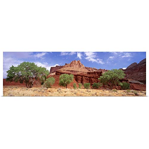 GREATBIGCANVAS Poster Print Entitled Utah, Capital Reef National Park, The Castle by 36