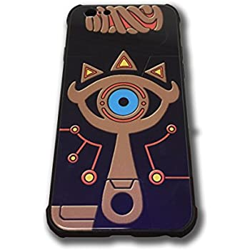more photos 796a4 ab207 The Legend of Zelda Sheikah Slate Eye Cell Phone Cases Blue Glass Back  Cover For iPhone 6 iPhone 6s