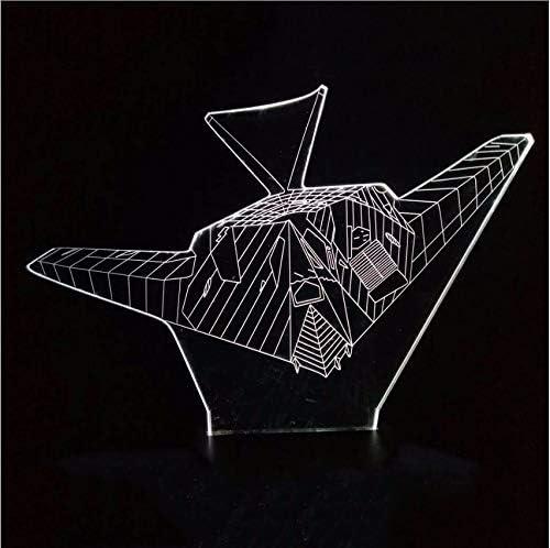 Djkaa 3D Colorido Decoración Visión Nocturno Aéreo Luz Modelado De ...