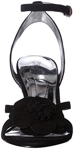 Santana Women's Sandal Black by Heeled Carlos Elle Carlos F4UpEfn