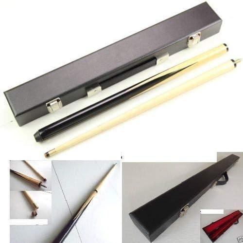 Taco de billar de 91 cm y 2 piezas con funda: Amazon.es: Electrónica