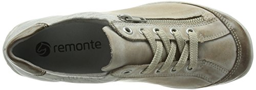 Remonte R3417 - Zapatillas Mujer Beige (Taupe/steel/ice / 42)