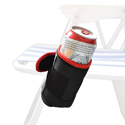 YYST Foldable Beach Chair Cup Beach Chair Drink Holder - No Chiar Included