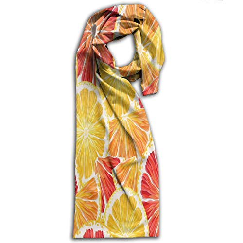 Adult Scarf Lemon Orange Customized Winter Scarves for sale  Delivered anywhere in Canada