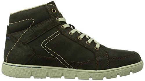Dockers 352623-013010 - Zapatillas de estar por casa Hombre Chocolate 010