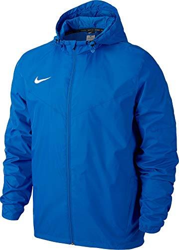 Nike Men's Team Sideline Rain Soccer Jacket (X-Large) Blue