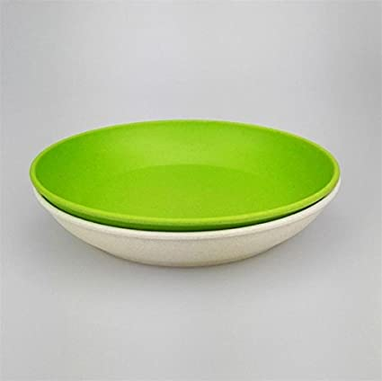 Deep dishes dinner plate new design deep bowls bamboo fiber dishes cake white blue plates designer & Deep dishes dinner plate new design deep bowls bamboo fiber dishes ...