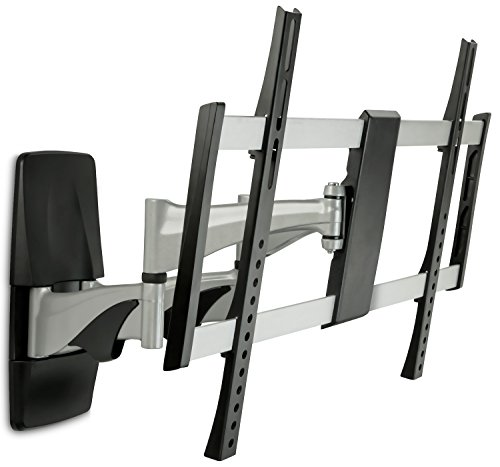 Mount-it! Curved TV Wall Mount MI-9464X, Heavy-Duty, Ultra-Slim, Stylish, Full-Motion Curved and Flat Panel TV Mount for 37