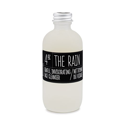 THE RAIN - Organic Apple Cider Vinegar FACE CLEANSER for All Skin Types – Treats Acne, Oily Skin, Blemishes, Eczema – Alcohol Free, Paraben Free, Non GMO, Cruelty Free – Step 1 of 4 Daily Regimen