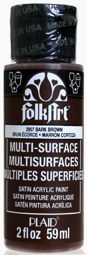 FolkArt Multi-Surface Paint in Assorted Colors (2 oz), 2907, Bark ()