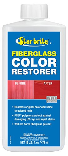 Star brite Fiberglass Color Restorer With PTEF - 16 (Fiberglass Boat Hull)