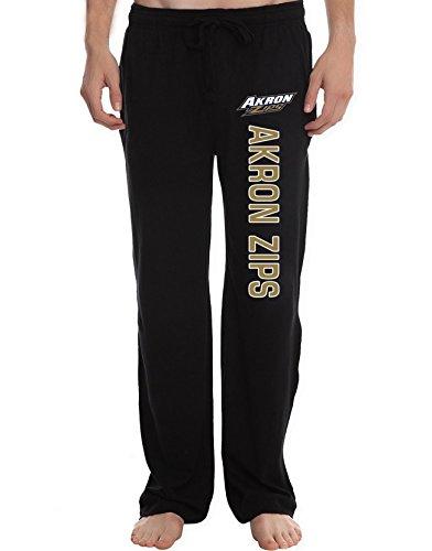 AMTT Men's Akron Zips College Lounge Pajama (Stirling 3 Light)