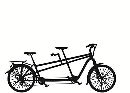 Pegatinas De Pared Tatuajes De Pared De Vinilo PVC Bicicleta ...