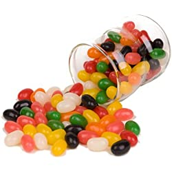 Jumbo Spiced Jelly Beans 32 OUNCES - 2 Pounds Bulk Spicy Jelly Beans