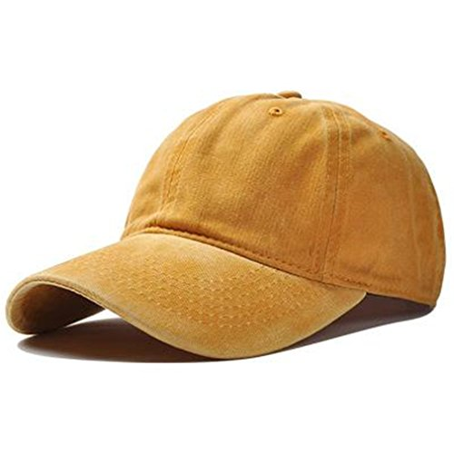 FDRGOTTEN Blank Cotton Washed Baseball Cap Women Men Snapbac