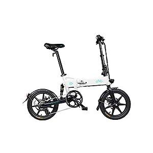 41UY3uQo7wL. SS300 Bestice Mountain Bike elettrica FIIDO D2S Ebike, Bici da 16 Pollici Bici elettrica Pieghevole Motore da 250 W Watt 6…