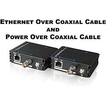 Amazon Com Power And Ethernet Over Coax Transmitter
