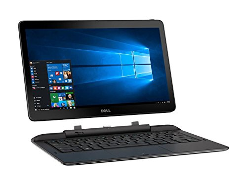 2 in 1 Dell Latitude 7000 13.3' Full HD Touchscreen Flagship High Performance Backlit Keyboard Business Laptop PC| Intel core M| 4GB RAM| 128GB SSD| WIFI | Bluetooth| Windows 10 Pro