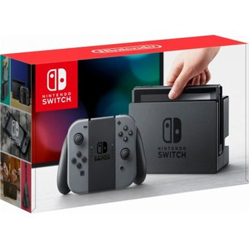 Nintendo Switch   Gray Joy Con