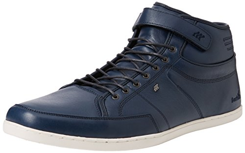 Boxfresh Swich Prem Icn Lea Nvy L, Zapatillas Altas para Hombre Azul - azul (Navy)