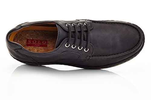 Brown 400 Solo Comfort Work On Brand Coffee Casual Slip Parker Men's Shoe na467qnp