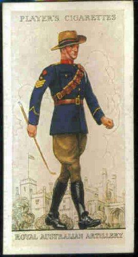 Royal Australian Artillery 1938 Player Cigarettes Military Uniforms of the British Empire Overseas #9 ()