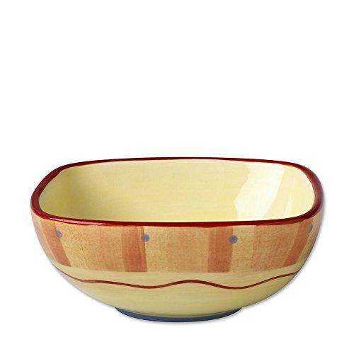 (Pfaltzgraff Napoli Square Salad Bowl, 5-3/4-Inch)